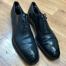 Church's Leather Cap Toe Shoes Black UK 10.5