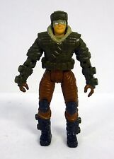 GI JOE BUILT TO RULE FROSTBITE Action Figure Forest Fox Driver COMPLETE C9+ 2003
