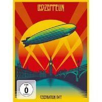 LED ZEPPELIN - CELEBRATION DAY  DVD + 2CD HARD ROCK  NEU