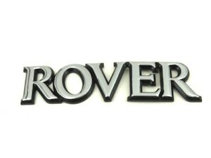 Genuine New ROVER BOOT BADGE Rear Emblem For 400 1995-1999 414 416 420 Turbo GTI