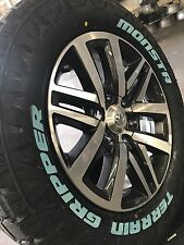 "5x GENUINE TOYOTA HILUX SR5 2017 18"" Wheels & AT TERRAIN Tyres HILUX 4WD PRADO"