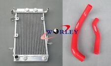 Aluminum Radiator + Hose for SUZUKI LTZ400 KFX400 DVX400 2003-2008 2004 05 06 07