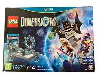 LEGO Dimensions Starter Pack Nintendo WII U WARNER