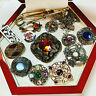 VINTAGE JEWELLERY MIXED LOT SCOTTISH BROOCHES/PINS/PENDANTS (Miracle)
