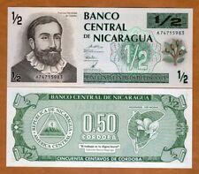 Nicaragua, 1/2 cordoba, ND (1992), P-172, Fractional Denom., UNC