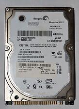 """Seagate Momentus 40 GB, internal,4200 RPM,2.5 """"IDE st9402113a disco rigido interna"""