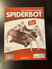 DIY Tech-Kit Spiderbot You Build Yourself NEW