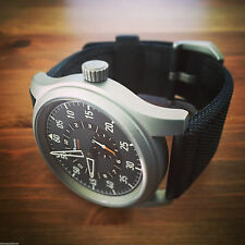 Praesto Aviator Automatic Wrist Watch / 44MM Case / 24MM Lug Width / Miyota 8245