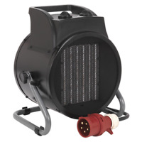 Industrial PTC Fan Heater 5000W 415V 3ph SEALEY PEH5001 by Sealey