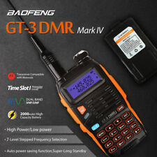 Baofeng GT-3 Mark IV V/UHF Walkie Talkie w/ DMR Ham Two way Radio Walkie Talkie