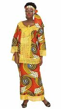 African Women's 3 PC Wrap Around Skirt Set Lace Top Headwrap Nigerian Lace Hem