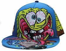 Spongebob Squarepants Crazy  Pscho Allover Bob Snapback Hat Cap