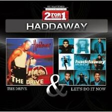 "HADDAWAY ""THE DRIVE & LET´S DO IT NOW"" 2 CD NEU"