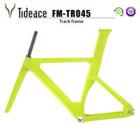 Carbon Fiber Fixed Gear Track Bicycle Frame 49/51/54cm T800 Road BSA Frames OEM