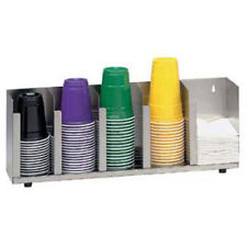 Lid Organizer 5 Stacks, Stainless Steel, for Standard and Jumbo Lids