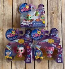 NEW LITTLEST PET SHOP LPS FAIRIES GLOW SHIMMERING SKY LOT 2704 2705 2889 2890