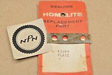 NOS Homelite VI-955 XL-901 XL-903 XL904 XL921 XL925 Chain Saw Front Handle Plate