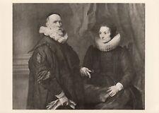 Ansichtskarte - Anthonis van Dyck / Der Maler Jan de Wael und Frau