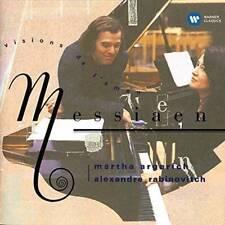 MARTHA ARGERICH-MESSIAEN: VISION DE L`AMEN-JAPAN CD C68