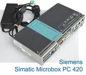 Siemens Simatic Microbox PC 420 6BKK1000-5CU00-0AA0 +Power Supply Industry V190