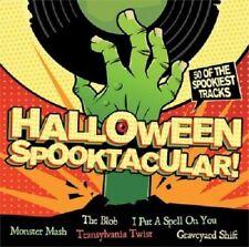 HALLOWEEN SPOOKTACULAR! NEW 2 CD 50 OF THE SPOOKIEST TRACKS BEST OF HALLOWEEN