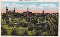 Postcard Mercer University Macon GA