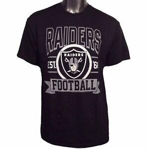 Oakland Raiders NFL Junk Food Originals L Team Crest T-Shirt Las Vegas $36