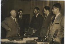 Kremlin, Khrushchev, Schorr, Cutler & Novins  Vintage  Tirage argentique  18