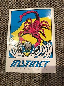 Instinct Sufing Sticker Vintage