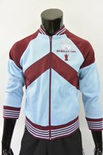 Score Draw West Ham United Retro HAMMERS Bomber Sweatshirt 1980 FA WEMBLEY (S)