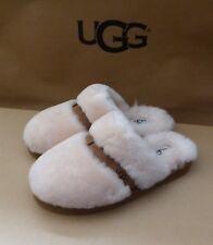 UGG Dalla Suede Sheepskin Slide Slipper Shoes Natural 11US/42EU NIB