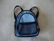 Build A Bear Back Pack - For Bears Or Dolls - Blue - Preowned