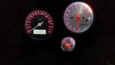 WHITE HONDA VTR1000F FIRESTORM led dash clock conversion kit lightenUPgrade