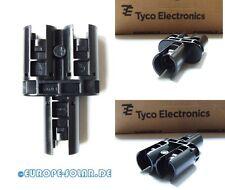 6 Stck Tyco SOLARLOK Y Stecker Stift-Stift, Plus Codiert,T Verbinder,Photvoltaik
