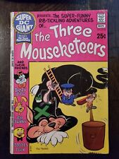 SUPER DC GIANT PRESENTS #18 1970 VG/FINE THREE MOUSEKETEERS!!
