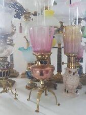 Jewel oil lamp  of Arts & Crafts  W.A.S. Benson