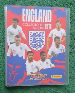 2018 ENGLAND ADRENALYN XL  98 CARDS FULL BASE SET+ 1 LIMITED CARD IN BINDERx