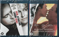 LIAISON FATALE + PROPOSITION INDECENTE : DOUGLAS, CLOSE, REDFORD, MOORE / BLURAY
