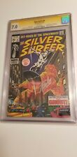 Silver Surfer #8 CGC SS 7.0 Signed Stan Lee