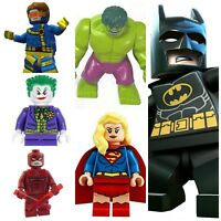 Batman,Joker,Daredevil,Hulk,Marvel Dc Super Hero Mini Figures Use With lego sets