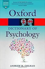 A Dictionary of Psychology 4/e (Oxford Quick Reference) NEW BOOK