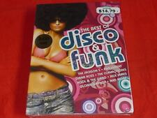 The Best of Disco & Funk by Various Artists (CD, 3 Discs, Universal) Box Set
