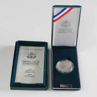 (1) 1991 P Korean War Memorial $1 Commemorative Proof Silver Dollar w/ COA & Box