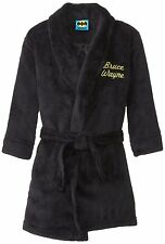 Komar Kids Little Boys' Batman Bruce Wayne Bathrobe Sleepwear Robes - Size Small