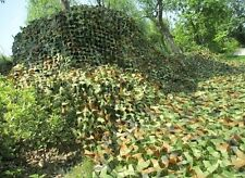 3x3M Hunting Camping Cover Net Woodlands Leaves Camouflage Camo Netting
