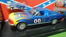 MUSTANG GT 1968 #00 DUKES OF HAZZARD o 1/18 ERTL 33043 voiture miniature de film
