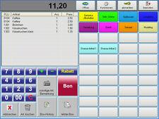 SOFTWARE POSprom SUITE 2.5 für CAFE IMBISS KANTINE. GDPdU. Computerkassen- Shop