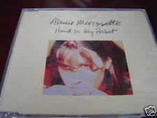 ALANIS MORISSETTE HAND IN MY POCKET IMPORT UK CD SINGLE