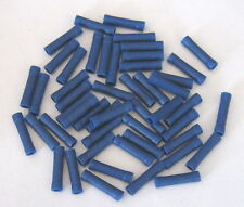 25  CRIMP  TERMINALS  BLUE INLINE JOINERS  4mm Wire  B/NEW