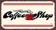 (VMA-L-6502) Coffee Shop  Vintage Metal Diner Retro Tin Sign